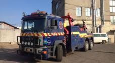 грузовой эвакуатор MAN