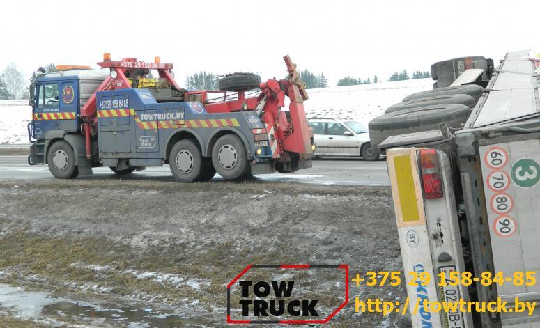 Грузовая эвакуация Iveco