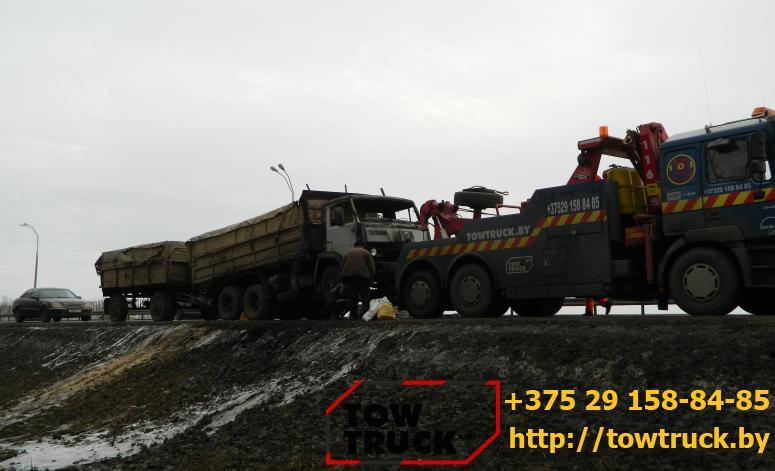 Эвакуация фуры towtruck.by