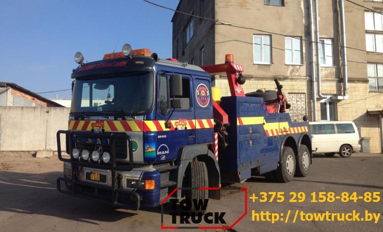 грузовой эвакуатор АвтоТовЛайн